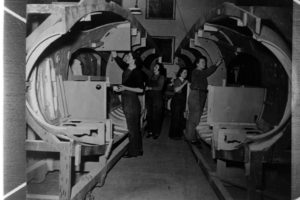 Fuselages of the Mosquito aircraft