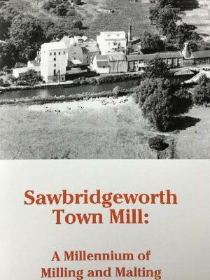 Sawbridgeworth Town Mill - booklet cover
